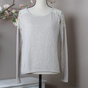 Forever 21 Lacy Sweater Size S